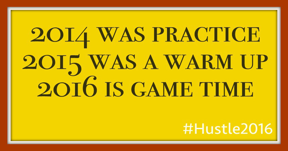 Game time | #Hustle2016